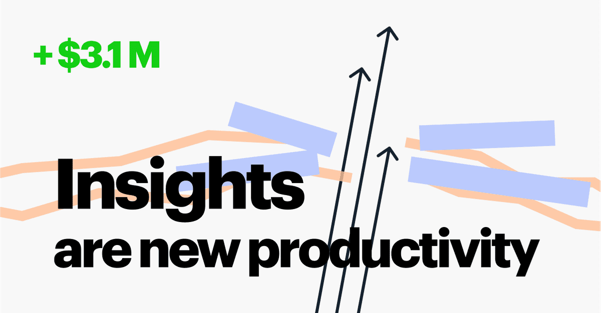 Have you ever thought about team productivity? What does it really mean? How do we measure it? Most vendors promise to save time (up to a day every we